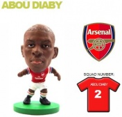 Фигурка футболиста Soccerstarz - Arsenal Abou Diaby - Home Kit (77041)