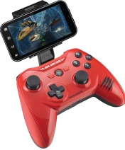 PC Геймпад Mad Catz C.T.R.L.R Mobile Gamepad - Gloss Red+код Kaspersky Internet Security для Android