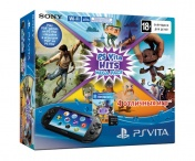 Playstation  Vita 2016 Wi-Fi+8GB memory card+ Mega Pack HITS  4 промокода + сумка Carbon черная34144