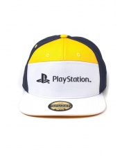 Бейсболка Difuzed: Playstation 7 Panels Snapback Cap BA274066SNY