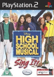 PS2  High School Musical: Sing It! + микрофон