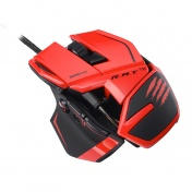 PC Мышь Mad Catz R.A.T.TE Gaming Mouse - Red проводная лазерная (MCB437040013/04/1)