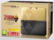 "Nintendo 3DS XL HW Zelda Edition + ""Zelda: Link between Worlds"" (NIC-2202832)"