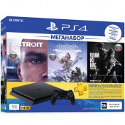 PlayStation 4 1TB Slim (CUH-2208B) + DG+GOW+TLOU+PSN 3мес