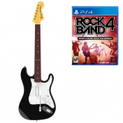 PS 4 Комплект для Rock Band 4 (игра + гитара) Wireless Fender Stratocaster (RB491268ES02/02/1)