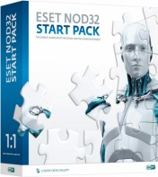ESET NOD32 Start Pack (коробка)