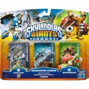 Skylanders Giants. Боевой набор: Chop Chop, Shroomboom, Cannon Piece