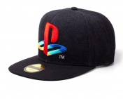 Бейсболка Difuzed: Playstation: Logo Denim Snapback Cap SB247883SNY