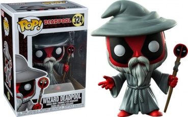 Фигурка Funko POP! Bobble: Marvel: Deadpool Playtime: Wizard 30868