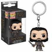 Брелок Funko Pocket POP! Keychain: Game of Thrones S8: Jon Snow (Beyond the Wall) 31812-PDQ