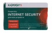 Kaspersky Internet Security Multi-Device Russian Edition. 3-Device 1 year Renewal Card