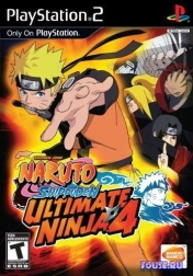 PS2  Naruto Shippuden: Ultimate Ninja 4