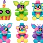 Фигурка плюшевая Funko Plush: FNAF Blacklight Neon: 6pc Plush PDQ (CDU of 6)  27014