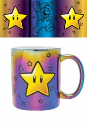 Кружка Pyramid: Nintendo: Super Mario (Star Power) Metallic Mugs FMG25308