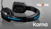 PS 4 Наушники с микрофоном Tritton Kama Stereo Headset - Black PS4/PS Vita (TRI906390002/02/1)