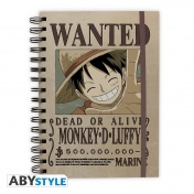 Ежедневник ABYstyle: ONE PIECE: Wanted Luffy ABYNOT013