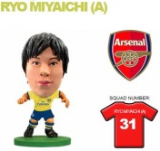 Фигурка футболиста Soccerstarz - Arsenal Ryo Miyaichi - Away Kit (400135)
