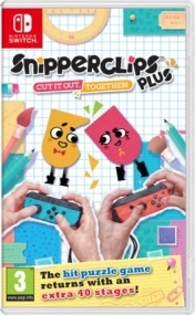 Snipperclips Plus: Cut it out, together! (Английская версия)