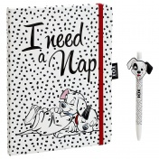 Записная книжка Funko Disney: 101 Dalmatians: Notebook & Pen: I Need A Nap UT-DI06432